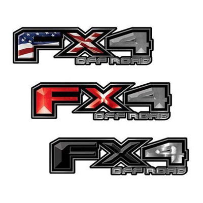 F-150 Ford FX4 Off Road Decals