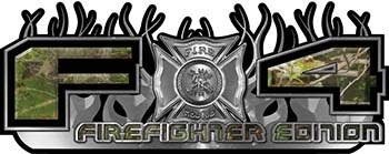 2015 Ford 4x4 Truck FX4 Firefighter Edition Style Decal Kit in Camouflage