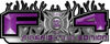 2015 Ford 4x4 Truck FX4 Firefighter Edition Style Decal Kit in Purple