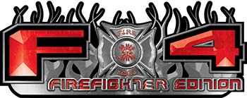 2015 Ford 4x4 Truck FX4 Firefighter Edition Style Decal Kit in Red