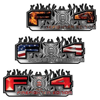 Firefighter Edition Ford FX4 Decals