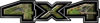 New Ford F-150 4x4 Truck Decal Kit in Camouflage