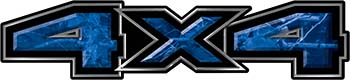 New Ford F-150 4x4 Truck Decal Kit in Camouflage Blue