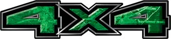 New Ford F-150 4x4 Truck Decal Kit in Camouflage Green