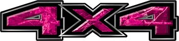 New Ford F-150 4x4 Truck Decal Kit in Camouflage Pink