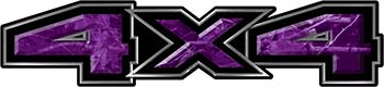 New Ford F-150 4x4 Truck Decal Kit in Camouflage Purple