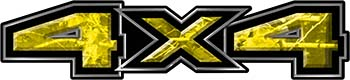 New Ford F-150 4x4 Truck Decal Kit in Camouflage Yellow