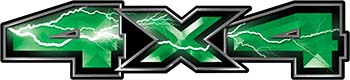 New Ford F-150 4x4 Truck Decal Kit in Lightning Green