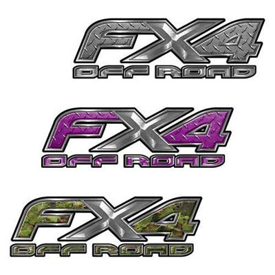 Ford F-150 FX4 Decals