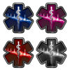 Heartbeat Star of Life Decal