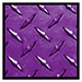 Purple Diamond Plate