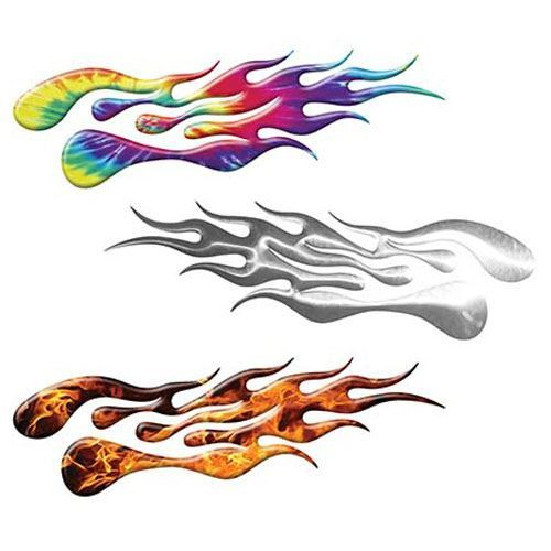 Extreme Car, Motorcycle or Truck Flame Decals