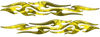 Tribal Style Flame Graphics in Yellow Camo