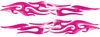 Tribal Style Flame Graphics in Pink