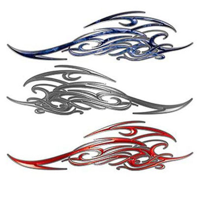Tribal Flame Scroll Decals