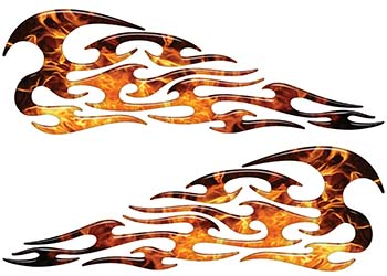 Tribal Style Flame Graphics in Inferno