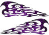<p>Tribal Style Flame Graphics in Inferno Purple</p>