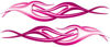 Twisted Tribal Flame Decal Kit in Pink