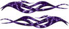 Twisted Tribal Flame Decal Kit in Purple Evil Skulls
