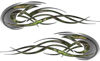 Tribal Flames Motorcycle Tank Decal Kit in Camouflage