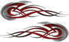 <p>Tribal Flames Motorcycle Tank Decal Kit in Red Inferno</p>