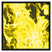 Yellow Inferno Flames