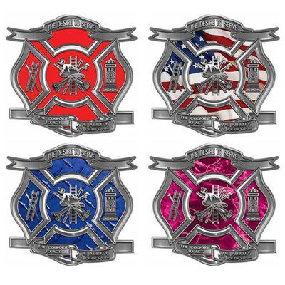 Desire To Serve Firefighter Decals