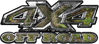 4x4 Truck Decals Offroad for Chevy Ford Dodge or Toyota in camo