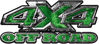 4x4 Truck Decals Offroad for Chevy Ford Dodge or Toyota in green camo