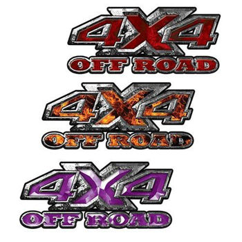 Custom 4x4 Off Road Decals
