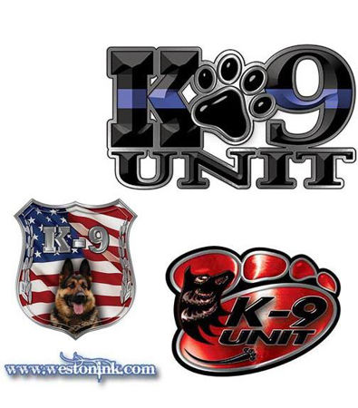 Picture for category K9 Decals
