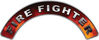 Firefighter Fire Fighter, EMS, Rescue Helmet Arc / Rockers Decal Reflective in Real Fire