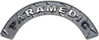 Paramedic Fire Fighter, EMS, Rescue Helmet Arc / Rockers Decal Reflective in Diamond Plate