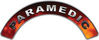 Paramedic Fire Fighter, EMS, Rescue Helmet Arc / Rockers Decal Reflective in Real Fire