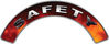 Safety Fire Fighter, EMS, Rescue Helmet Arc / Rockers Decal Reflective in Real Fire
