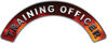Training Officer Fire Fighter, EMS, Rescue Helmet Arc / Rockers Decal Reflective in Real Fire