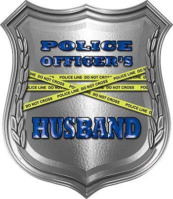 Police Officers Husband Police Law Enforcement Decals