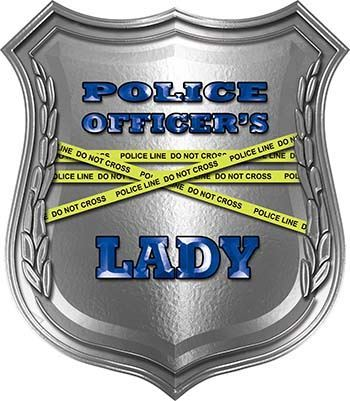 Police Officers Lady Police Law Enforcement Decals