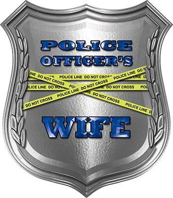 Police Officers Wife Police Law Enforcement Decals