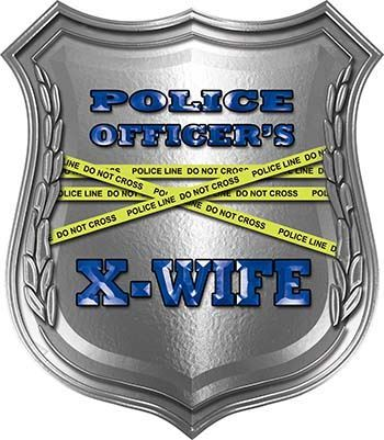 Police Officers X-Wife Police Law Enforcement Decals