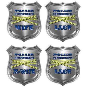 Police Officer's Family Decals