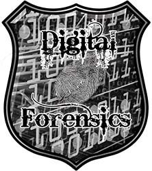 Digital Computer Forensics Police / Law Enforcement Decal in Gray