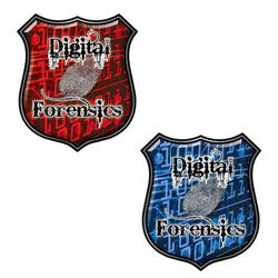 Digital Computer Forensics Decals