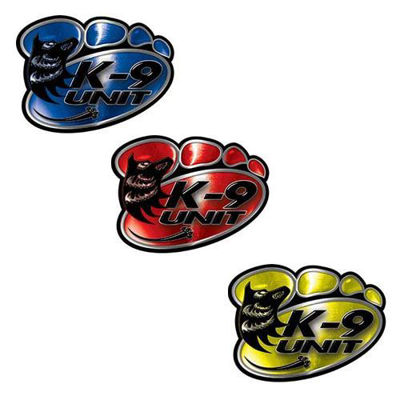 K9 Police Dog Paw Decals