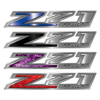 Chevy Z71 Off Road Decals