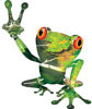 Cool Peace Frog Decal in Camouflage