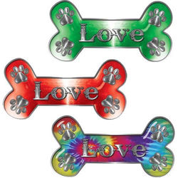 Love Dog Bone Decals