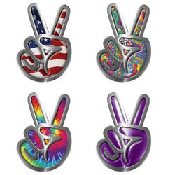 Peace Sign Decals