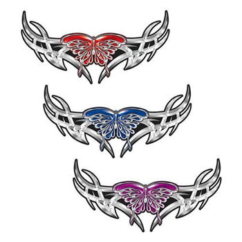 Tribal Wing Butterfly Decals. Weston Ink