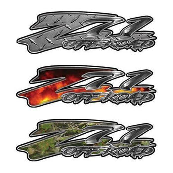 Custom GMC or Chevy Z71 Off Road Decals
